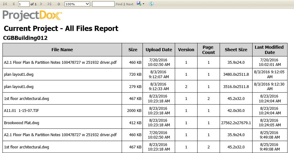 Project Report Sample Doc from www.avolvesoftware.com